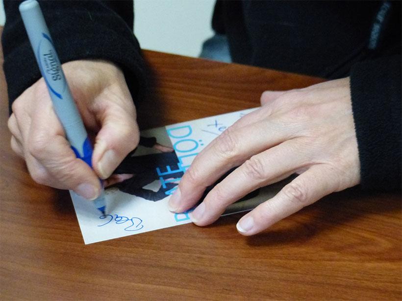 Autogrammkarten