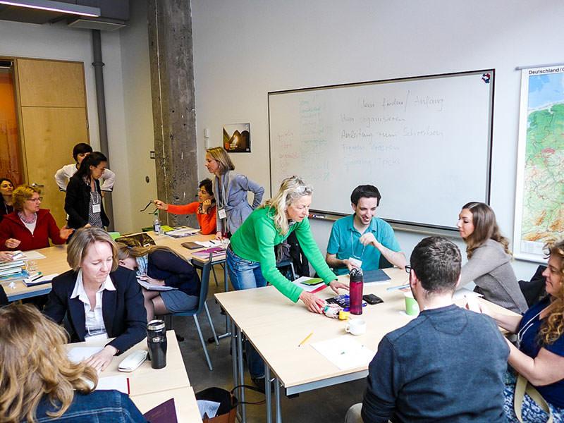 """""""Kreatives Schreiben"""" für Lehrkräfte am Goethe-Institut Montreal"""