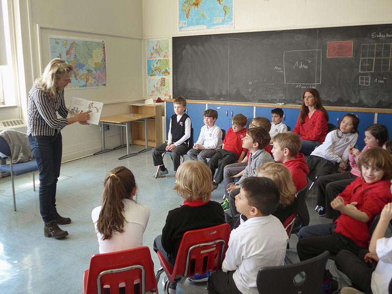Lesungen in der International German School, Toronto
