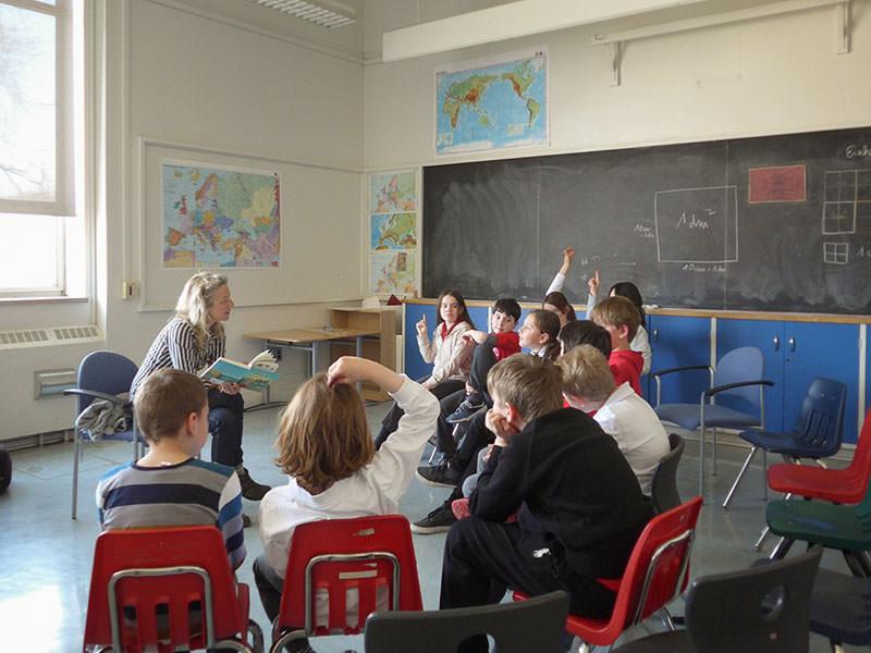 ToroLesungen in der International German School, Toronto - 2