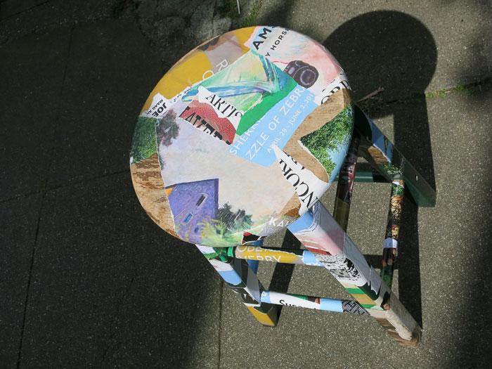 literarischen Stühle Photo Beate Dölling